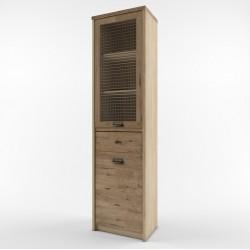 Шкаф с витриной Дизель 1V1D1S/D1
