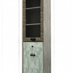 Шкаф с витриной Дизель 1V1D1S/D2