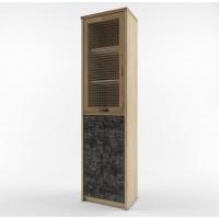 Шкаф с витриной Дизель 1V1D1S/D3