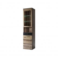 Шкаф с витриной 1V1D1SN Джаггер