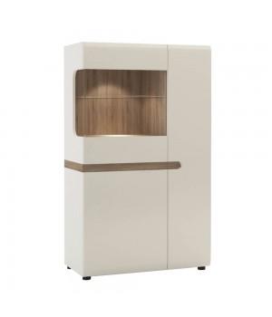 Шкаф с витриной Linate 3D-1S/ TYP 32