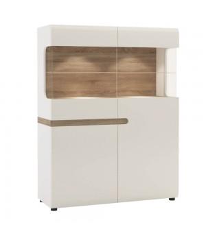 Шкаф с витриной Linate 3D-1S / TYP 33