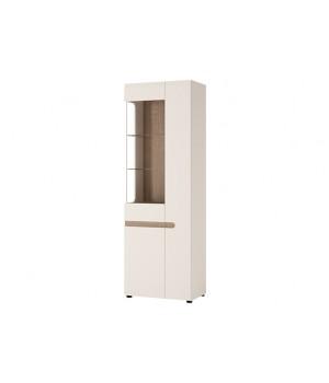 Шкаф с витриной Linate 3D/ TYP 01L-P