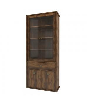 Шкаф с витриной Магеллан 2V2D1S