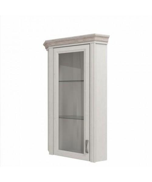 Шкаф с витриной Монако 1VU