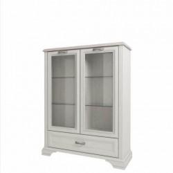 Шкаф с витриной Монако 2V1SL
