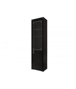 Шкаф с витриной Монтэ 1V/S3