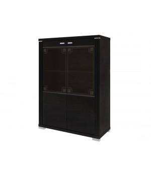 Шкаф с витриной Монтэ 2VL/S1
