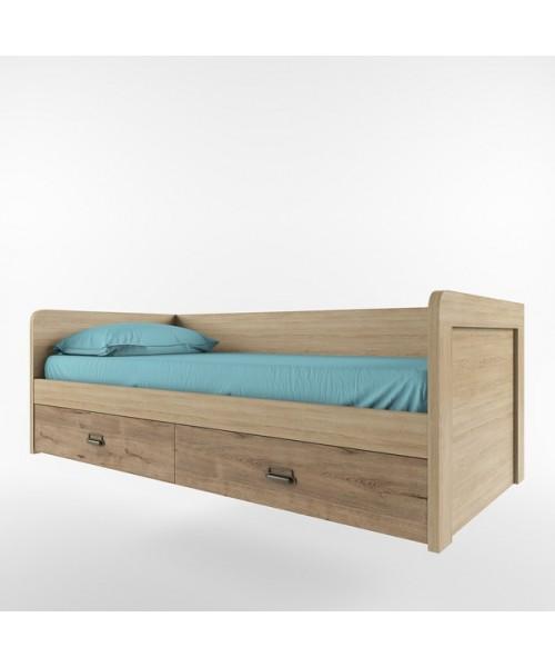 Кровать Дизель 90-2/D1