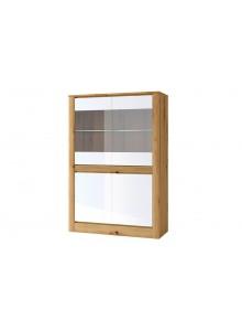 Шкаф с витриной 2V2D