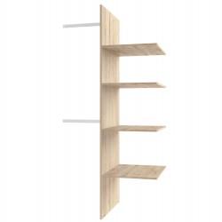 Шкаф 2DG с комплектом полок