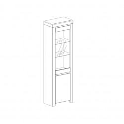 Шкаф с витриной 1V1D Таурус