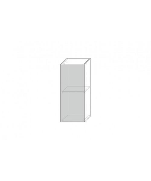 Шкаф настенный Бостон 1D/30-29-2, Ваниль