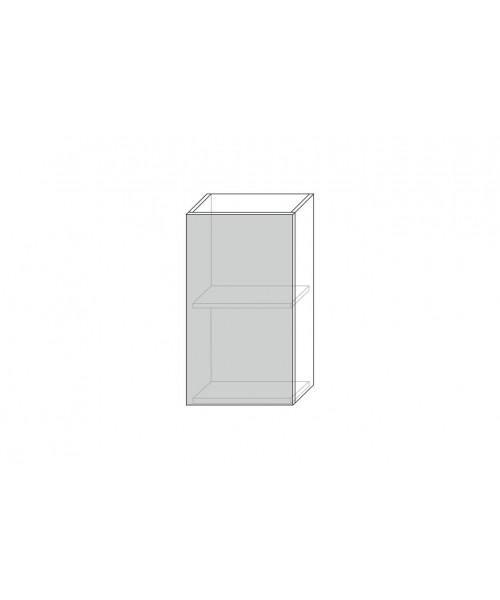 Шкаф настенный Бостон 1D/40-29-2, Ваниль