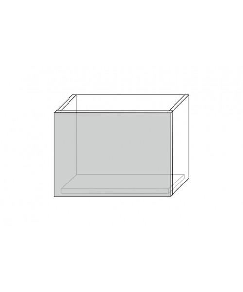 Шкаф настенный Бостон 1DG/50-29-2, Белый