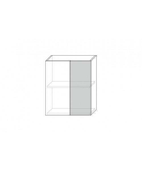 Шкаф настенный угловой Бостон 1D-29-2 (II), Белый