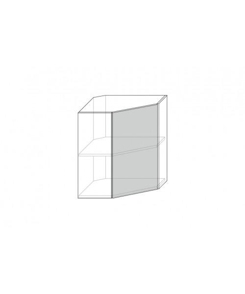 Шкаф настенный Бостон 1DU/60-29, Ваниль
