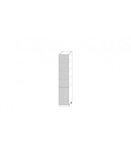 Шкаф 2D, Камень светло-серый