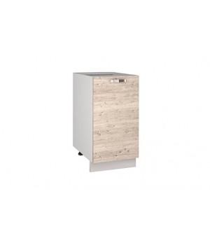 Кухонный шкаф-стол Alesia 1D/40-F1 сосна винтаж