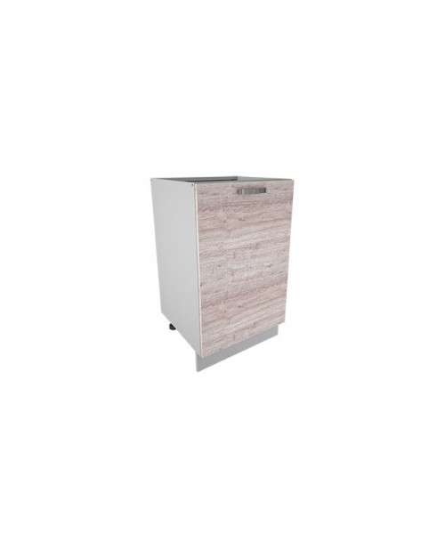 Кухонный шкаф-стол Alesia 1D/50-F1 дуб анкона