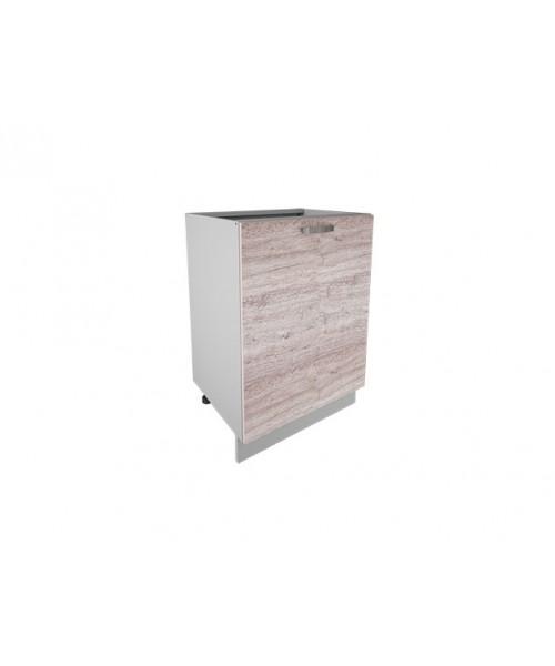 Кухонный шкаф-стол Alesia 1D/60-F1 дуб анкона