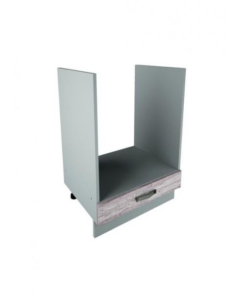 Кухонный шкаф открытый Alesia 1S/60-F1 дуб анкона