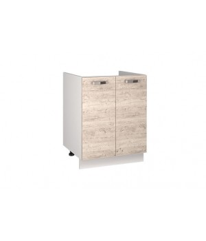 Кухонный шкаф под мойку Alesia 2D/60-F1 сосна винтаж