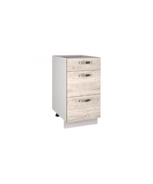 Кухонный шкаф-стол Alesia 3S/460-F1 сосна винтаж