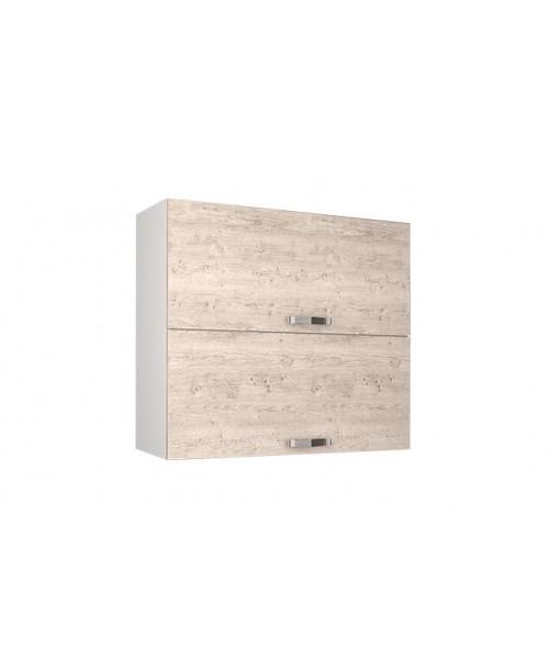 Кухонный шкаф настенный Alesia 2DG/80-F1