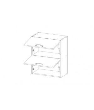 Кухонный шкаф настенный Alesia 2DG/60-F1