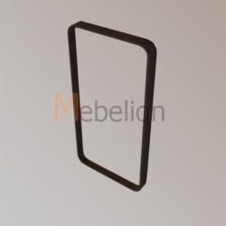 Зеркало прямоугольное Иконс (морёный дуб)