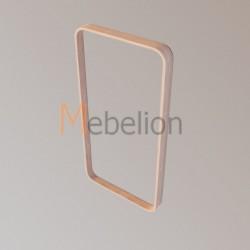 Зеркало прямоугольное Иконс (белёный дуб)