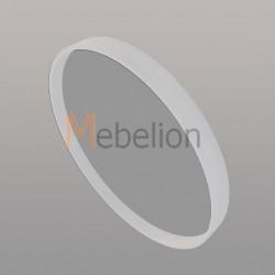 Зеркало круглое Иконс 50 (белый дуб)