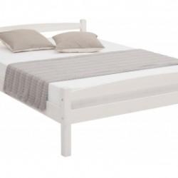 Кровать Гольф 140х200 (белый воск)