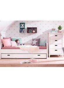 Кровать со вторым спальным местом Сиело (Люмио), 90х200 см, 61728
