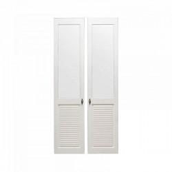 Комплект дверей к стеллажу Рауна 20 (белый воск) - 2 шт.