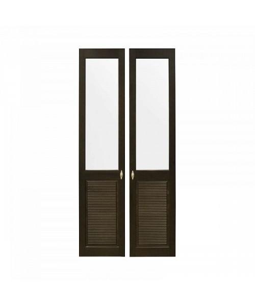 Комплект дверей к стеллажу Рауна 20 (колониал) - 2 шт.