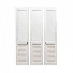 Комплект дверей к стеллажу Рауна 30 (белый воск) - 3 шт.