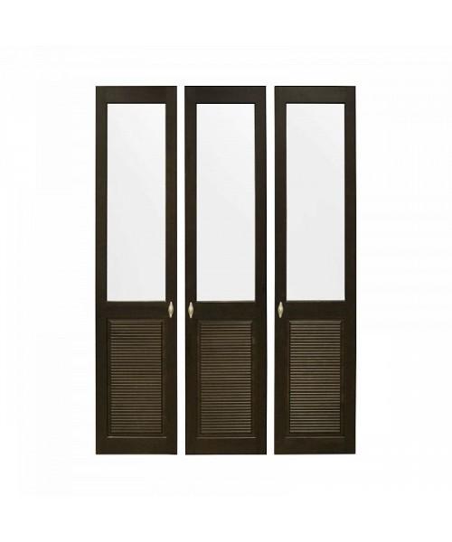 Комплект дверей к стеллажу Рауна 30 (колониал) - 3 шт.