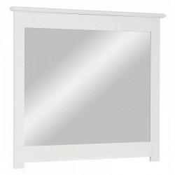 Зеркало навесное в раме Рауна белый воск