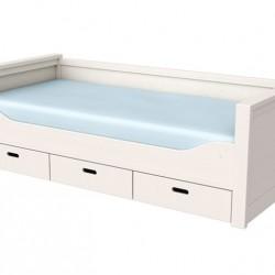 Кровать с ящиками Сиело, 90х200 см, 77325