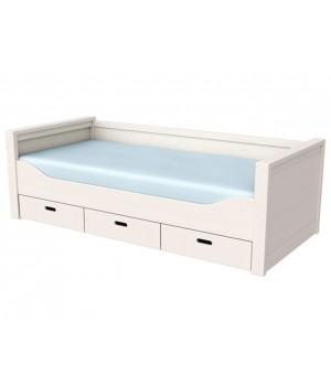 Кровать с ящиками Сиело, 90х200 см