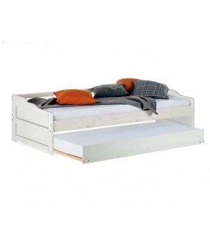 Кровать односпальная Михаэла, 90х200 с дополнительным спальным местом, Д 7348.1