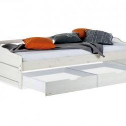 Кровать односпальная Михаэла, 90х200, с ящиками (2 шт.), Д 7348.2