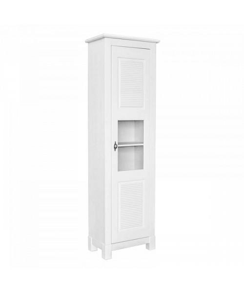 Шкаф для посуды Рауна 10 (белый воск)