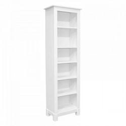 Шкаф для книг Рауна 00 (белый воск)