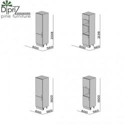 Шкафы-пеналы кухонный, 9001-33