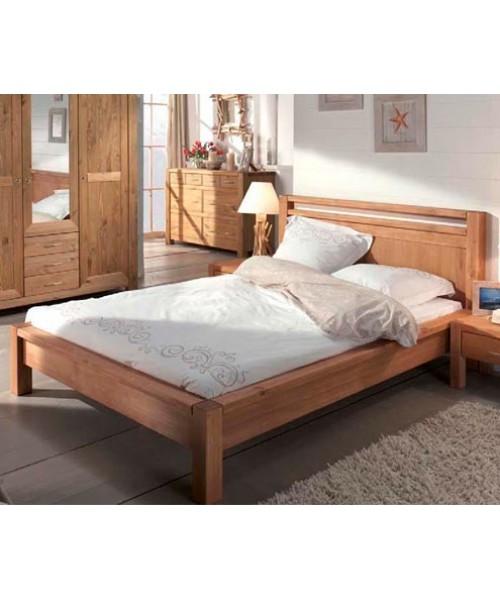 Кровать полуторная Фьорд 140х190 (датский бейц)