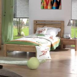Кровать односпальная Фьорд 90х190 (датский бейц)