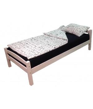 Кровать односпальная Гольф 90х200 (белый воск)